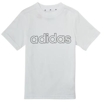 material Boy short-sleeved t-shirts adidas Performance ALBA White