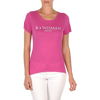 T-shirts & Polo shirts School Rag TEMMY WOMAN Violet 350x350