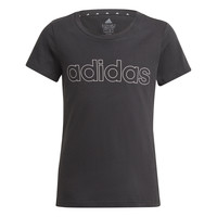 material Girl short-sleeved t-shirts adidas Performance PLAKAT Black