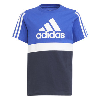 material Boy short-sleeved t-shirts adidas Performance ABATIA Marine / Black