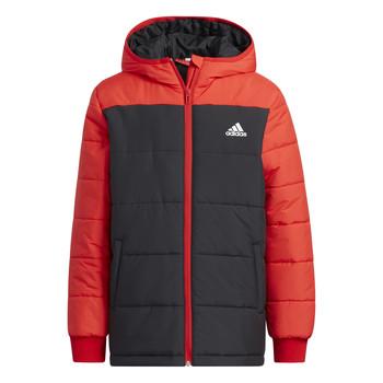 material Children Duffel coats adidas Performance RACHELA Red / Black