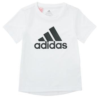 material Boy short-sleeved t-shirts adidas Performance NADEGE White