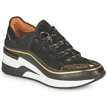 Shoes Women Low top trainers Mam'Zelle VANIO Black