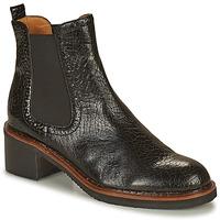 Shoes Women Mid boots Mam'Zelle GRADO Black