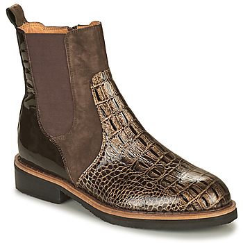 Shoes Women Mid boots Mam'Zelle JUDE Brown