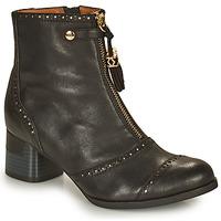 Shoes Women Ankle boots Mam'Zelle MALO Black