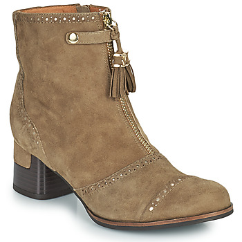 Shoes Women Ankle boots Mam'Zelle MALO Taupe