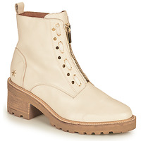 Shoes Women Mid boots Mam'Zelle QUITO White