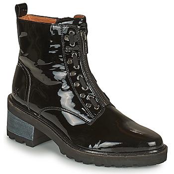 Shoes Women Mid boots Mam'Zelle QUITO Black
