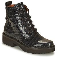 Shoes Women Mid boots Mam'Zelle RANGI Black