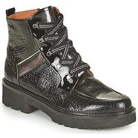 Shoes Women Mid boots Mam'Zelle ROLL Black