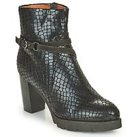 Shoes Women Ankle boots Mam'Zelle UGA Black