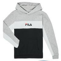 material Boy sweaters Fila CAMILLA Black / Grey