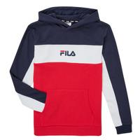 material Boy sweaters Fila CAMILLA Red / Marine