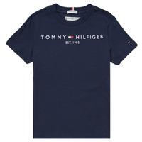 material Boy short-sleeved t-shirts Tommy Hilfiger SELINERA Marine