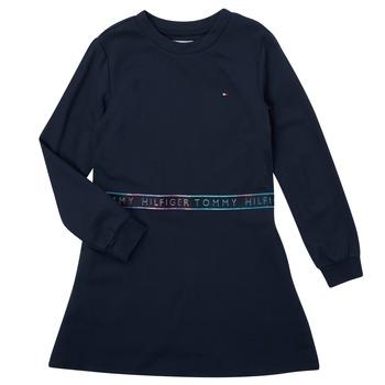 material Girl Short Dresses Tommy Hilfiger SOLIDA Marine