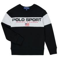 material Boy sweaters Polo Ralph Lauren SIMEON Black