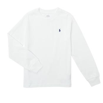 material Boy Long sleeved shirts Polo Ralph Lauren KEMILO White