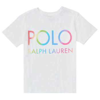 material Boy short-sleeved t-shirts Polo Ralph Lauren FERILO White