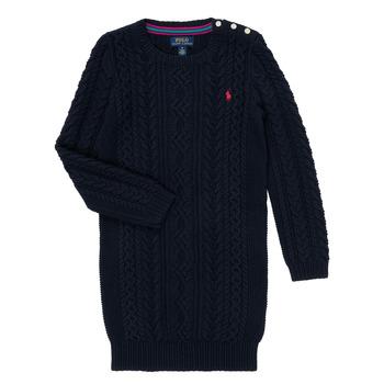 material Girl Short Dresses Polo Ralph Lauren RURBE Marine