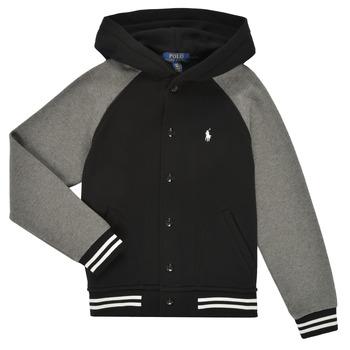 material Boy sweaters Polo Ralph Lauren DENINO Black / Grey