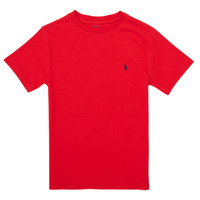 material Girl short-sleeved t-shirts Polo Ralph Lauren FOLLIA Red