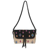 Bags Women Shoulder bags Desigual JULY TRIBU VENECIA MINI Black