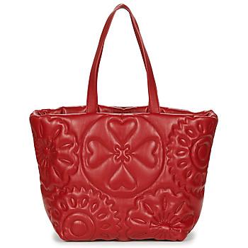 Bags Women Shoulder bags Desigual BIG BIG BOMBAY Red