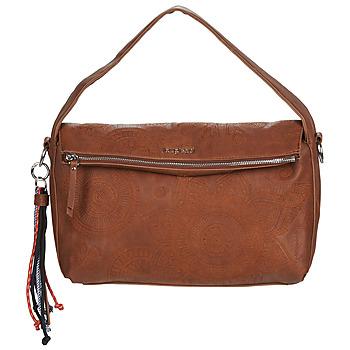 Bags Women Shoulder bags Desigual DEJA VU NARBONNE FLAP Brown