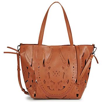 Bags Women Shoulder bags Desigual ELEONORA NORWICH Brown