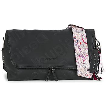 Bags Women Shoulder bags Desigual GALIA VENECIA MAXI Black