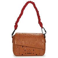 Bags Women Shoulder bags Desigual ELEONORA PHUKET MINI Brown