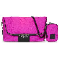 Bags Women Shoulder bags Desigual CRUSH VENECIA Pink