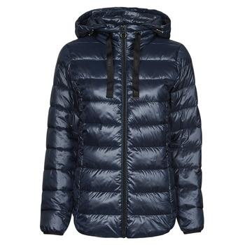 material Women Duffel coats Esprit PER LL F TAP JT Blue