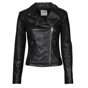 material Women Leather jackets / Imitation leather Esprit PU BIKER Black