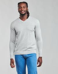 material Men jumpers Esprit F PIMA V-NK Grey