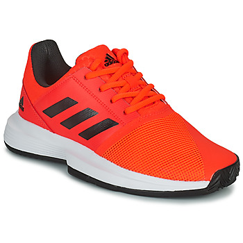 Shoes Children Tennis shoes adidas Performance CourtJam xJ Red / Black