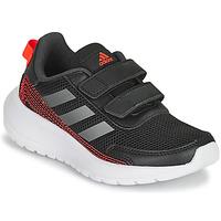 Shoes Boy Running shoes adidas Performance TENSAUR RUN C Black / Red
