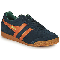 Shoes Men Low top trainers Gola HARRIER Marine / Orange