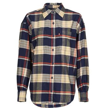 material Women Shirts Levi's REMI UTILITY SHIRT Multicolour