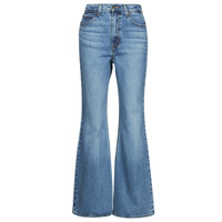 material Women bootcut jeans Levi's 70S HIGH FLARE Blue
