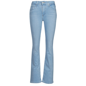 material Women bootcut jeans Levi's 726 HIGH RISE BOOTCUT Blue