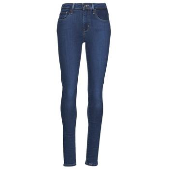 material Women Skinny jeans Levi's 721 HIGH RISE SKINNY Blue