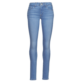 material Women Skinny jeans Levi's 711 SKINNY Blue