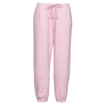 material Women Tracksuit bottoms Levi's WFH SWEATPANTS Pink