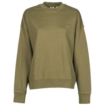 material Women sweaters Levi's WFH SWEATSHIRT Kaki