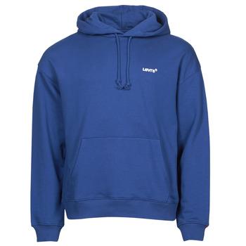material Men sweaters Levi's RED TAB SWEATS HOODIE Blue