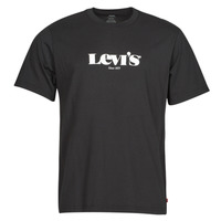 material Men short-sleeved t-shirts Levi's SS RELAXED FIT TEE Black
