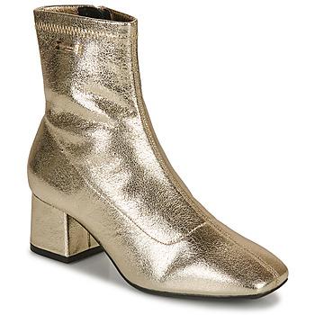 Shoes Women Ankle boots Les Tropéziennes par M Belarbi DANIELA Gold