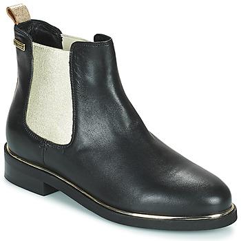Shoes Women Mid boots Les Tropéziennes par M Belarbi MICKY Black / Gold
